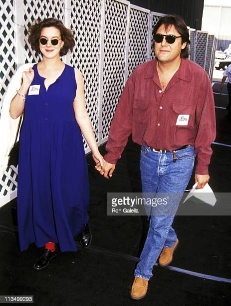 Elizabeth Perkins and Maurice Phillips during Grand Opening of Universal Studios New ET Adventures Ride at Universal Studios in Universal City...
