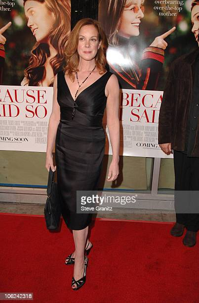 Elizabeth Perkins during 'Because I Said So' Los Angeles Premiere Arrivals at Arclight Theater in Los Angeles California United States