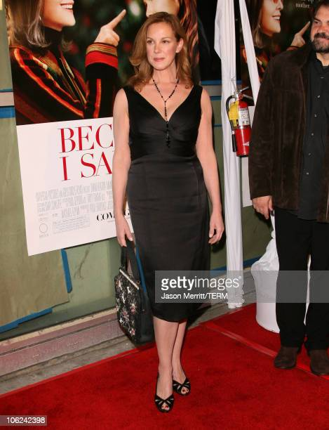 Elizabeth Perkins during 'Because I Said So' Los Angeles Premiere Arrivals at The Arclight in Hollywood California United States