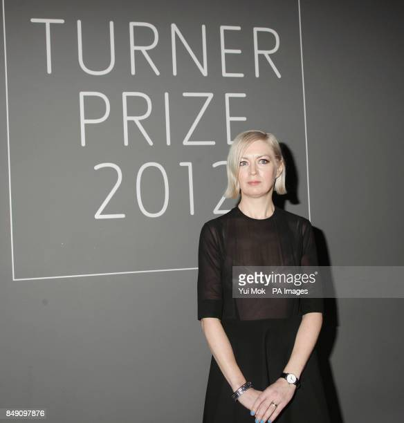 Elizabeth Price is announced as the winner of the Turner Prize at Tate Britain London