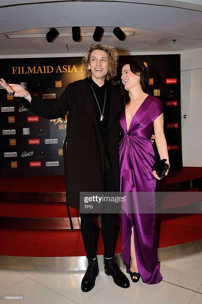 Elizabeth Reaser and Jamie Campbell Bower attended charity premiere of The Twilight Saga: Breaking Dawn - Part 2 on Wednesday December 12, 2012 in Hong Kong, China.