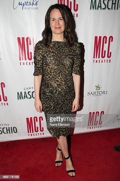 Elizabeth Reaser attends MCC Theater's 2015 Gala Miscast 2015 at Hammerstein Ballroom on March 30 2015 in New York City
