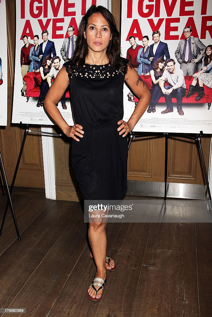 <a gi-track='captionPersonalityLinkClicked' href=/galleries/search?phrase=Elizabeth+Rodriguez&family=editorial&specificpeople=736864 ng-click='$event.stopPropagation()'>Elizabeth Rodriguez</a> attends the 'I Give It A Year' screening at the Crosby Street Theater on July 30, 2013 in New York City.