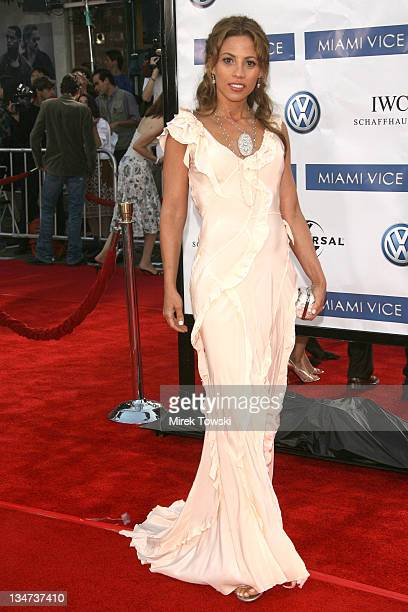 Elizabeth Rodriguez during 'Miami Vice' Los Angeles World Premiere at Mann Village Theatre in Westwood California United States