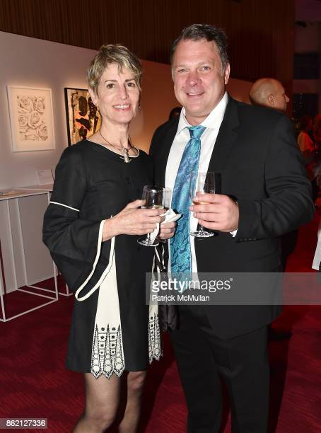 Elizabeth Sadoff and Stephen Van Deventer attend the NYSCF Gala Science Fair at Jazz at Lincoln Center on October 16 2017 in New York City
