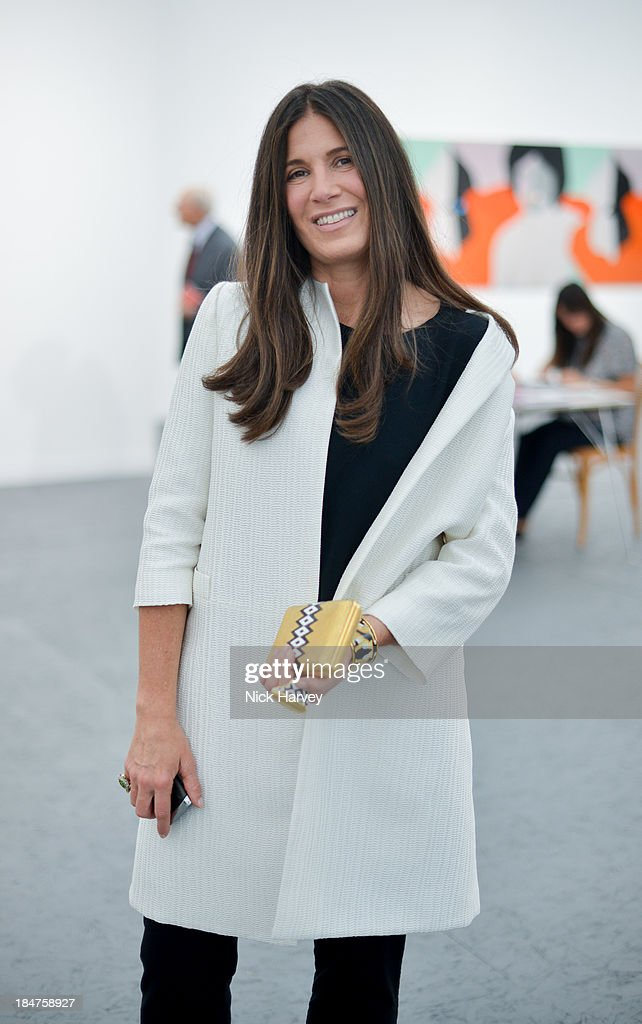 <a gi-track='captionPersonalityLinkClicked' href=/galleries/search?phrase=Elizabeth+Saltzman&family=editorial&specificpeople=209100 ng-click='$event.stopPropagation()'>Elizabeth Saltzman</a> attends the private view for Frieze on October 16, 2013 in London, England.