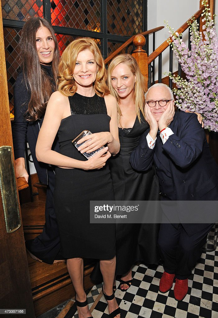 """""""Icons Of Style"""" Dinner Hosted By Michael Kors And Vanity Fair At The Ivy"""