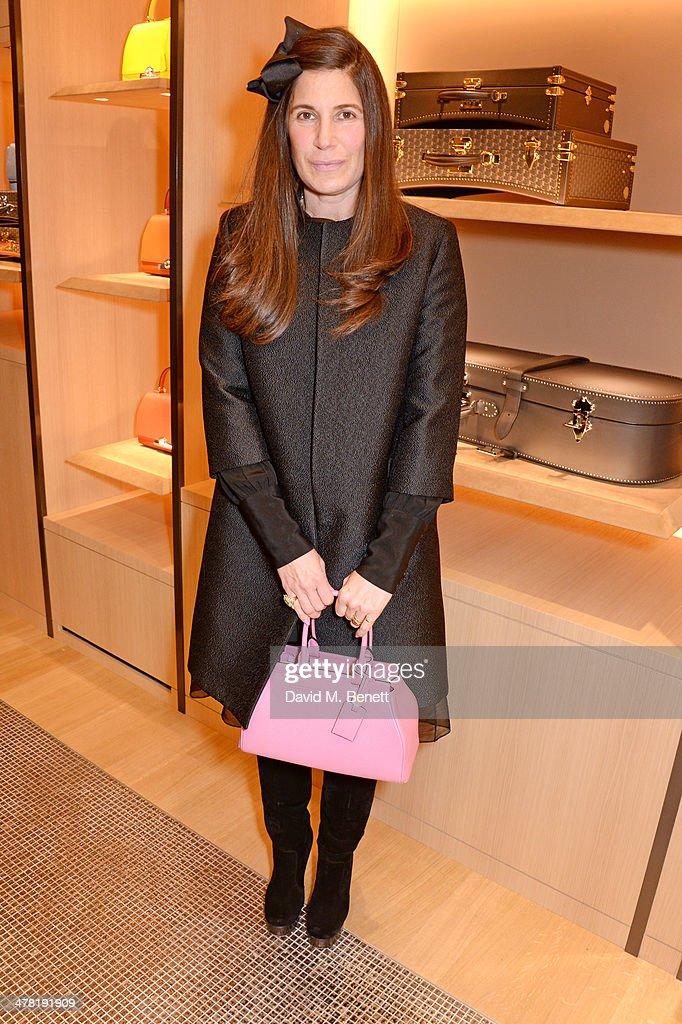 Elizabeth Saltzman Walker attends the Moynat London boutique opening on March 12, 2014 in London, England.
