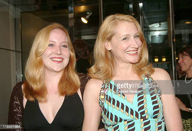 Elizabeth Sanders and Patricia Clarkson during 5th Annual Young Friends of Film Honors Campbell Scott and Premiere of 'The Dying Gaul' at Walter...
