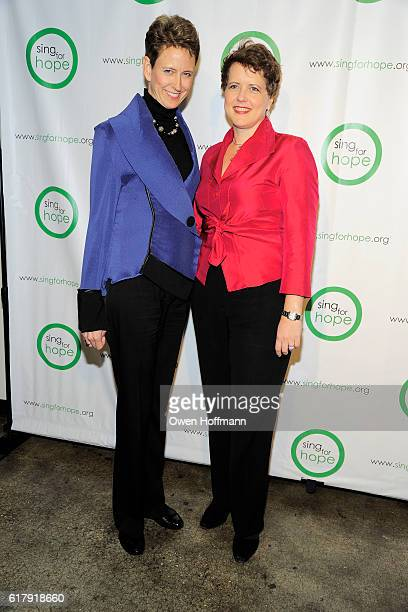 Elizabeth Scott and Emma Dunch attend Sing for Hope Gala featuring Renee Fleming and Tituss Burgess CoChaired by Renee Fleming Margie Loeb Muhammad...