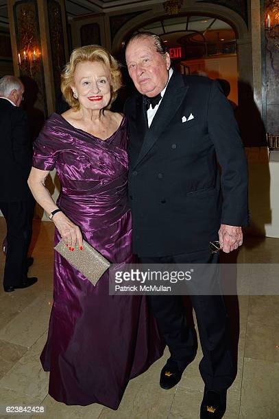 Elizabeth Scott and Stanley Scott attend the FHS Proust Ball 2016 at The Plaza Hotel on November 16 2016 in New York City