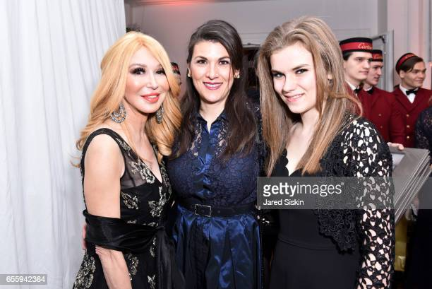 Elizabeth Segerstrom Telicia Grant and Morgan Grant attend the New York Premiere and Celebration of Documentary Film 'Henry T Segerstrom Imagining...