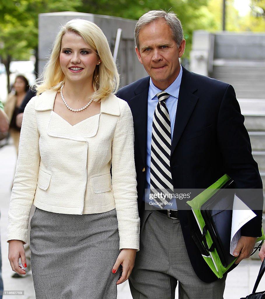 Elizabeth Smart Attends Sentencing Of Brian David Mitchell