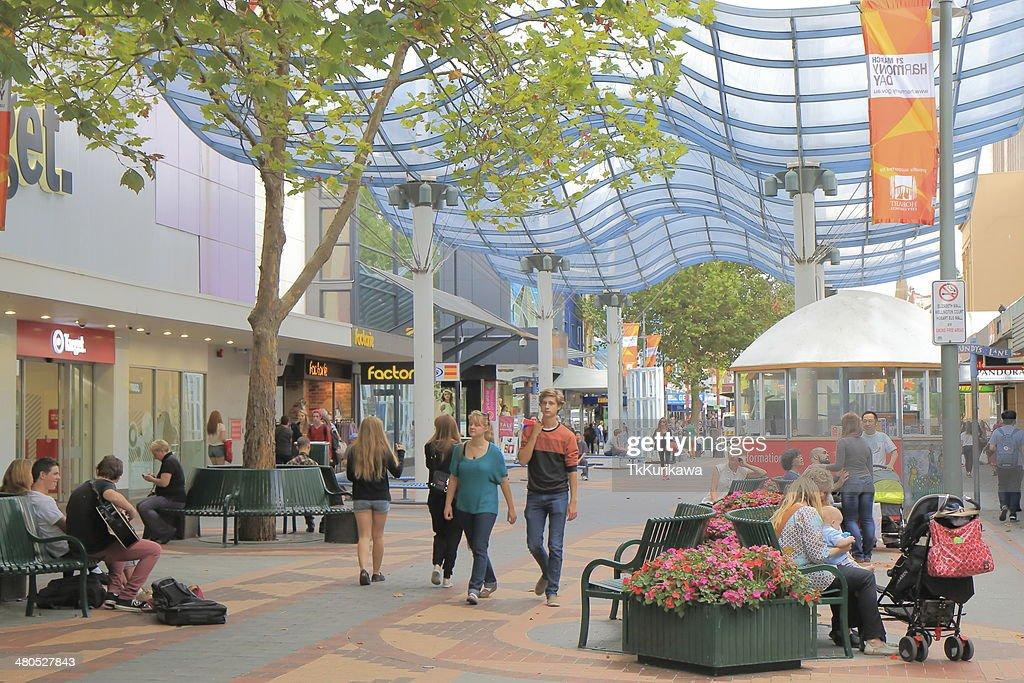 Elizabeth Street Hobart City : Stock Photo