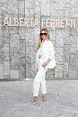 Alberta Ferretti - Front Row - Milan Fashion Week...