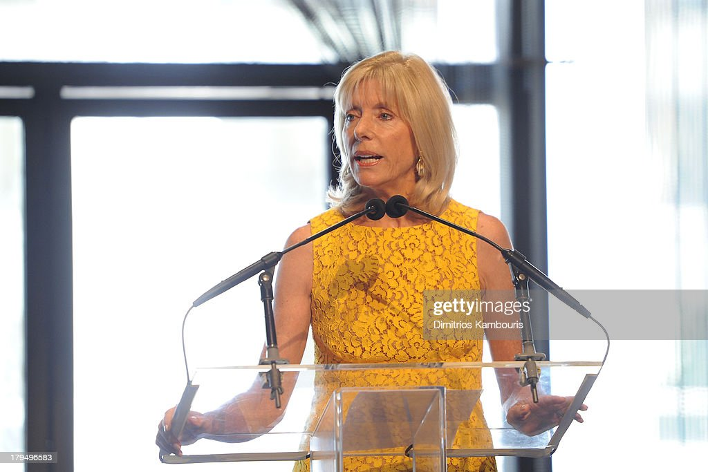 Elizabeth T. Peek speaks at The Couture Council of The Museum at the Fashion Institute of Technology hosted luncheon honoring Michael Kors with the 2013 Couture Council Award on September 4, 2013 in New York City.