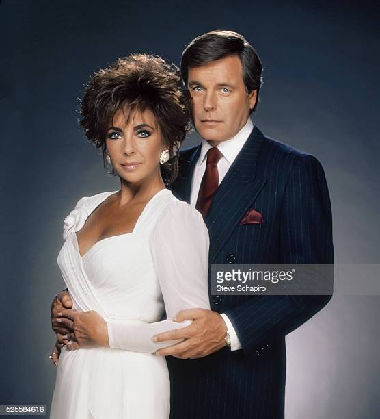 Elizabeth Taylor and Robert Wagner