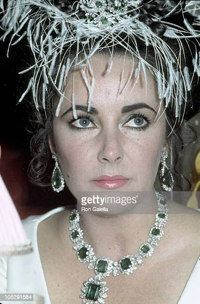 Elizabeth Taylor during 'A Flea in Her Ear' Paris Premiere in Paris France United States