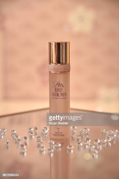 Elizabeth Taylor Love White Diamonds New Fragrance Launch at the Academy Mansion on October 17 2017 in New York City