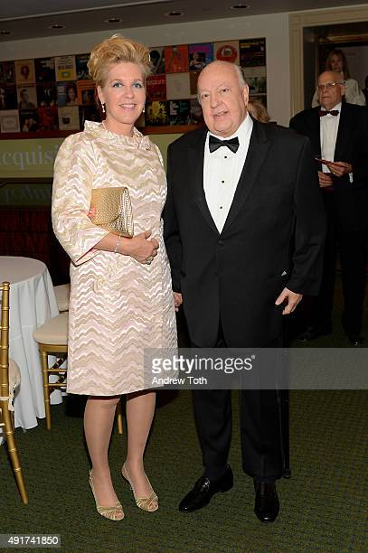 Elizabeth Tilson Ailes and Television Producer Roger Ailes attend the Carnegie Hall 125th Season Opening Night Gala at Carnegie Hall on October 7...