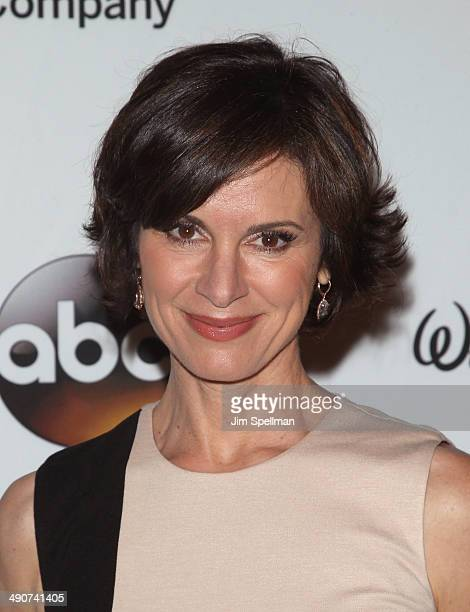 Elizabeth Vargas attends A Celebration of Barbara Walters Cocktail Reception Red Carpet at the Four Seasons Restaurant on May 14 2014 in New York City
