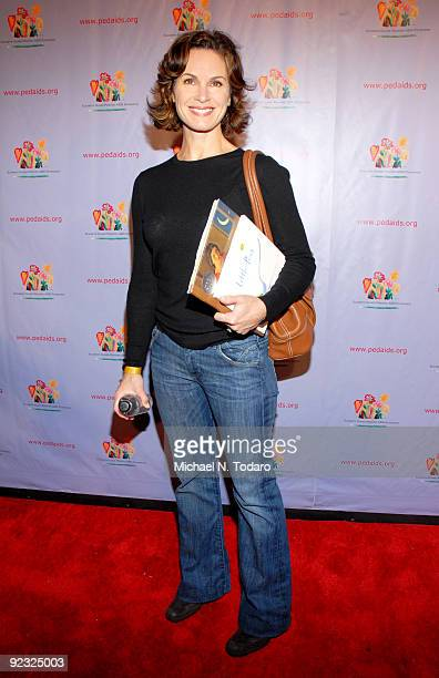 Elizabeth Vargas attends the Kids For Kids Family Carnival at Industria Superstudio on October 24 2009 in New York City