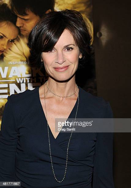 Elizabeth Vargas attends the 'Walking With The Enemy' screening at Dolby 88 Theater on March 31 2014 in New York City