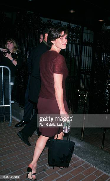 Elizabeth Vargas during 'Double Jeopardy' New York City Premiere at Guild 50th Street Theater in New York City New York United States