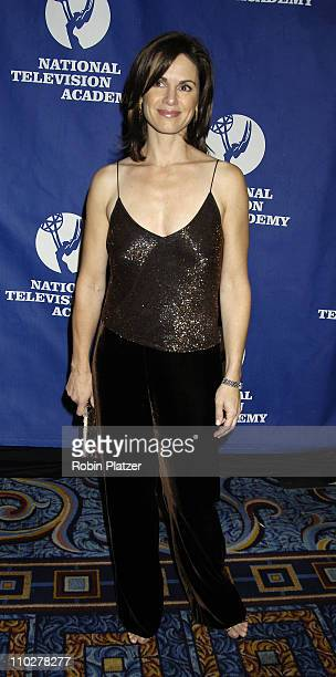 ELizabeth Vargas during Robert Iger Honored by The National Academy at The New York Marriott Marquis Hotel in New York City New York United States