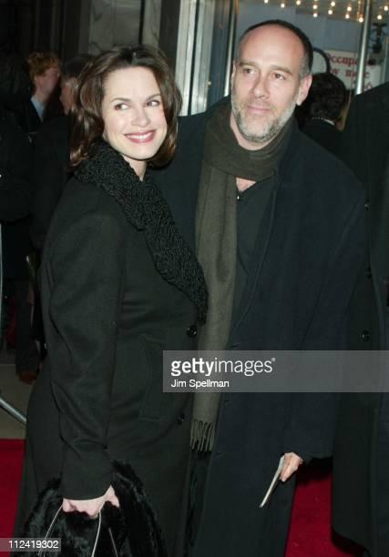 Elizabeth Vargas Marc Cohn during 'The Hours' New York City Premiere Arrivals at The Paris Theater in New York City New York United States