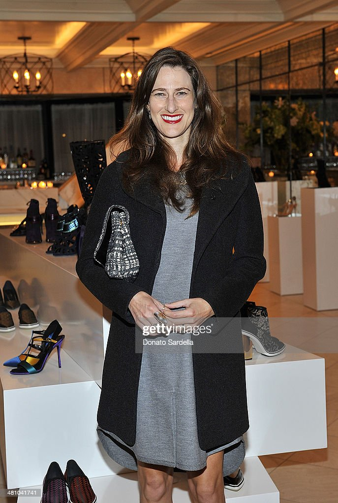 Elizabeth Varnell attends Nicholas Kirkwood dinner hosted by Emma Roberts and Jake Shears at Hotel Bel-Air on March 27, 2014 in Los Angeles, California.