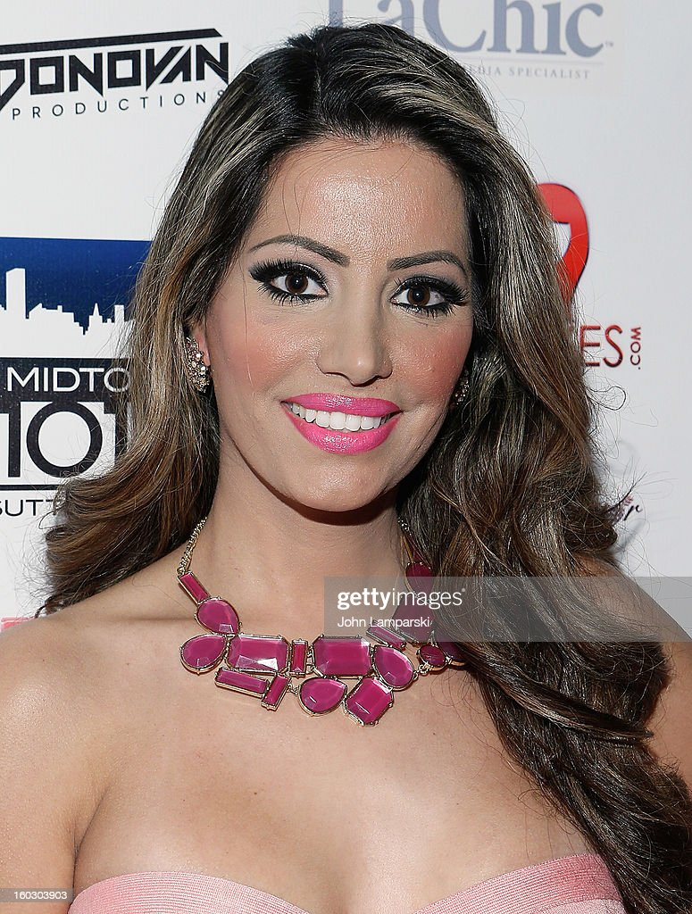 Elizabeth Vashisht attends 'Jerseylicious' Season 5 Premiere Party at Midtown Sutton on January 28, 2013 in New York City.