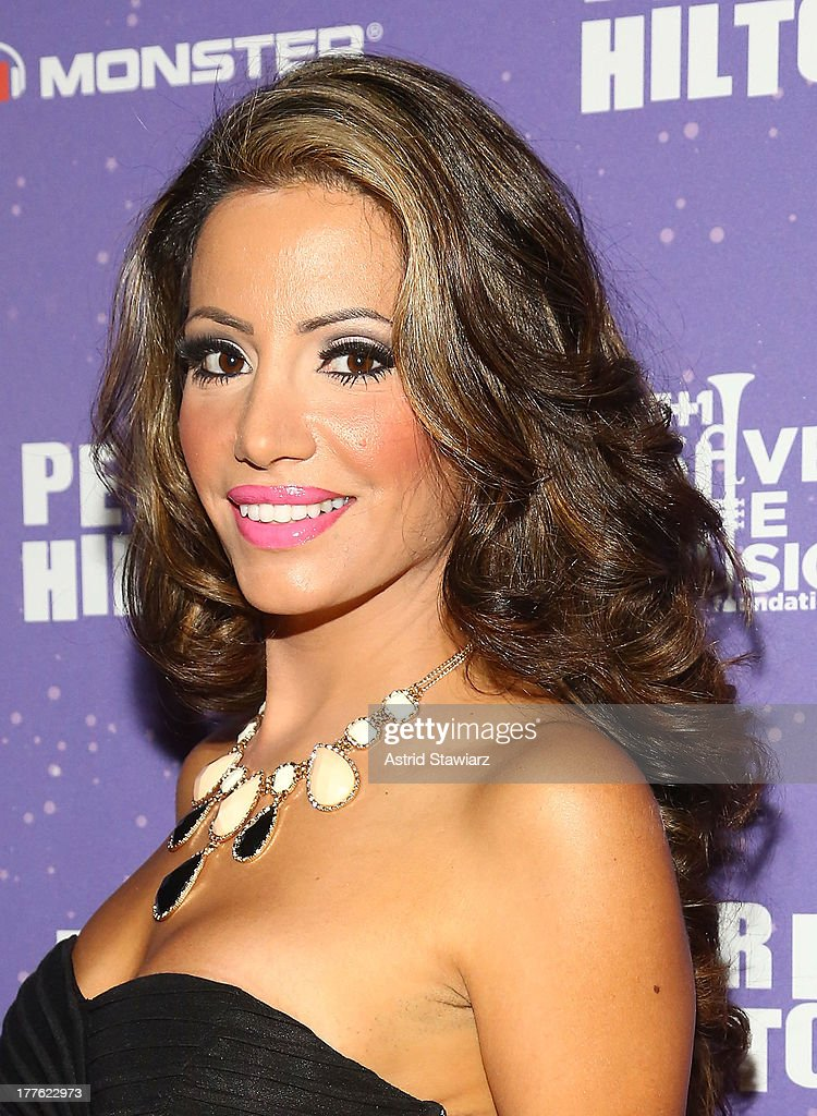 Elizabeth Vashisht attends Perez Hilton's One Night In Brooklyn at Music Hall of Williamsburg on August 24, 2013 in New York City.