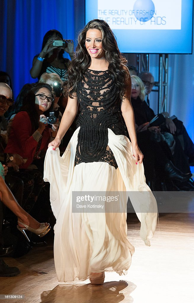 Elizabeth Vashisht attends 'The Reality Of Fashion, The Reality Of AIDS' Benefit during Fall 2013 Fashion Week at Altman Building on February 9, 2013 in New York City.