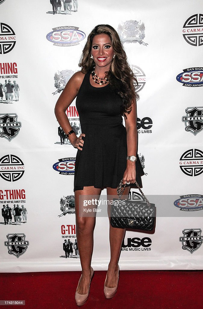 Elizabeth Vashist attends the 'G-Thing' Series Premiere Party at The Griffin on July 23, 2013 in New York City.