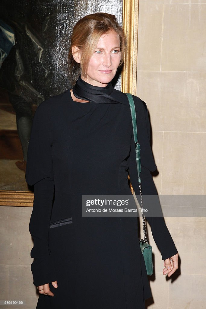 Elizabeth Von Guttman attends Christian Dior showcases its spring summer 2017 cruise collection at Blenheim Palace on May 31, 2016 in Woodstock, England.
