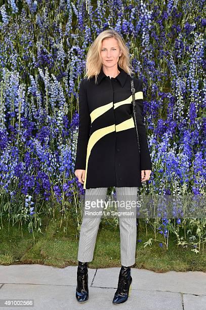 Elizabeth Von Guttman attends the Christian Dior show as part of the Paris Fashion Week Womenswear Spring/Summer 2016 on October 2 2015 in Paris...