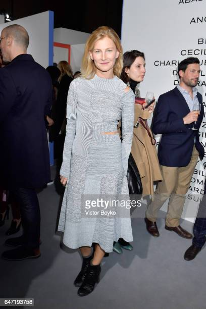 Elizabeth Von Guttman attends the Cocktail Reception For The LVMH PRIZE 2017 on March 2 2017 in Paris France