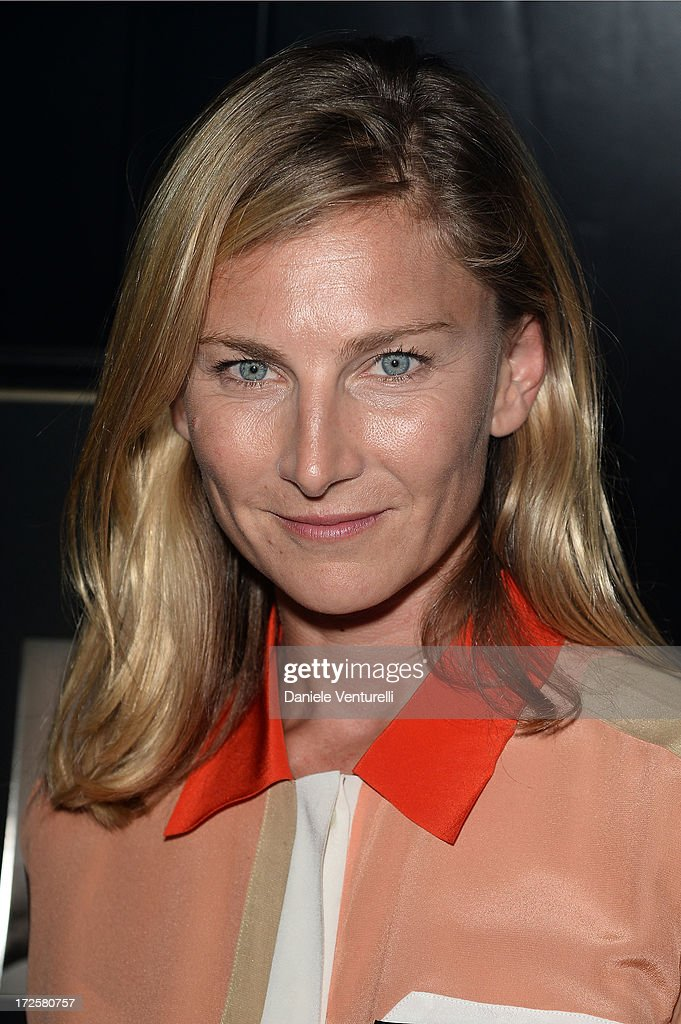 Elizabeth von Guttman attends 'The Glory Of Water' Karl Lagerfeld's Exhibition Preview on July 3, 2013 in Paris, France.