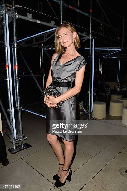 Elizabeth Von Guttman attends the Miu Miu Club launch of the first Miu Miu fragrance and croisiere 2016 collection at Palais d'Iena on July 4 2015 in...