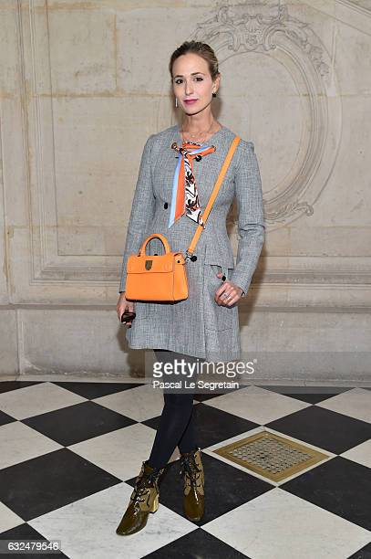 Elizabeth Von Thurn Und Taxis attends the Christian Dior Haute Couture Spring Summer 2017 show as part of Paris Fashion Week on January 23 2017 in...