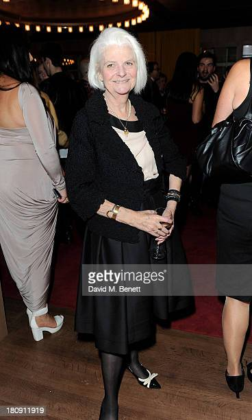 Elizabeth Walker attends the Marie Claire 25th birthday celebration featuring Icons of Our Time in association with The Outnet at the Cafe Royal...