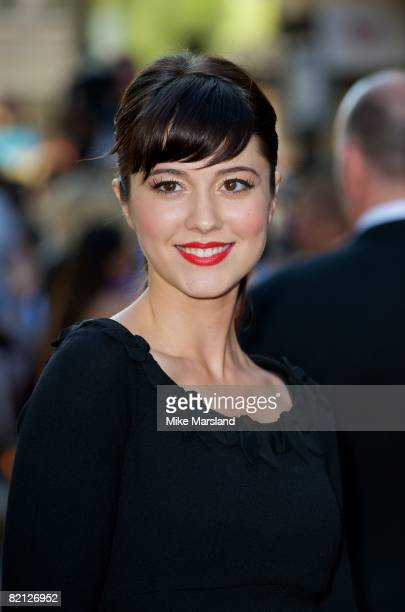 Elizabeth Winstead attends the UK premiere of The XFiles I Want To Believe at Empire Leicester Square on July 30 2008 in London England