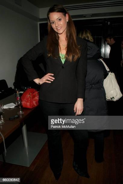 Elizabeth Woolworth attends Opening Celebration of SEASONAL RESTAURANT WEINBAR at Seasonal Restaurant Weinbar on January 21 2009 in New York City