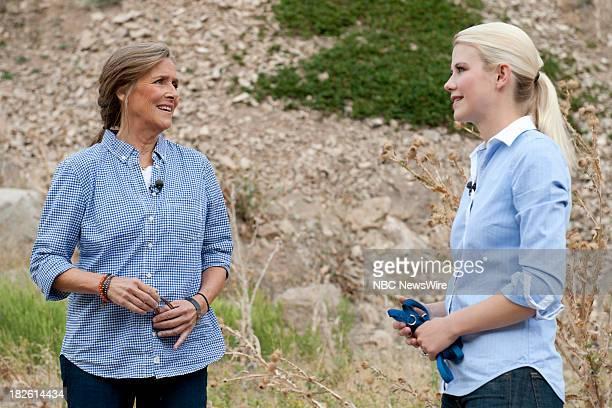 NBC NEWS SPECIALS 'Elizabeth's Story A Meredith Vieira Special' Pictured Meredith Vieira Elizabeth Smart