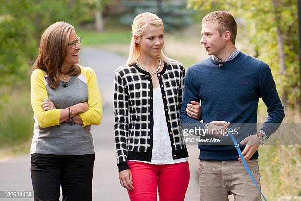 NBC NEWS SPECIALS 'Elizabeth's Story A Meredith Vieira Special' Pictured Meredith Vieira Elizabeth Smart and her husband Matthew Gilmour
