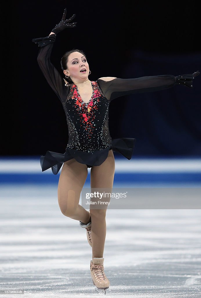 Elizaveta Tuktamysheva of Russia performs in the Ladies Free Skating during the Grand Prix of Figure Skating Final 2012 at the Iceberg Skating Palace on December 8, 2012 in Sochi, Russia.