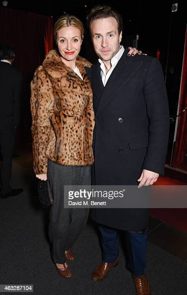 Elize du Toit and Rafe Spall attend an after party following the UK Premiere of 'Fifty Shades Of Grey' at aqua London on February 12 2015 in London...