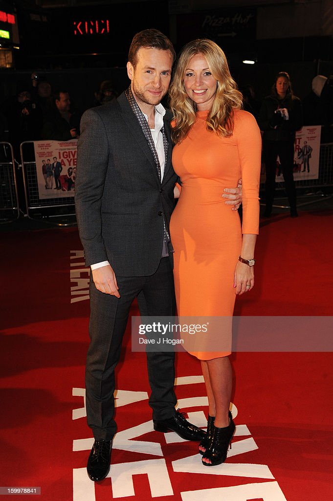 <a gi-track='captionPersonalityLinkClicked' href=/galleries/search?phrase=Elize+Du+Toit&family=editorial&specificpeople=210544 ng-click='$event.stopPropagation()'>Elize Du Toit</a> and Rafe Spall attend the European premiere of 'I Give It A Year' at The Vue West End on January 24, 2013 in London, England.