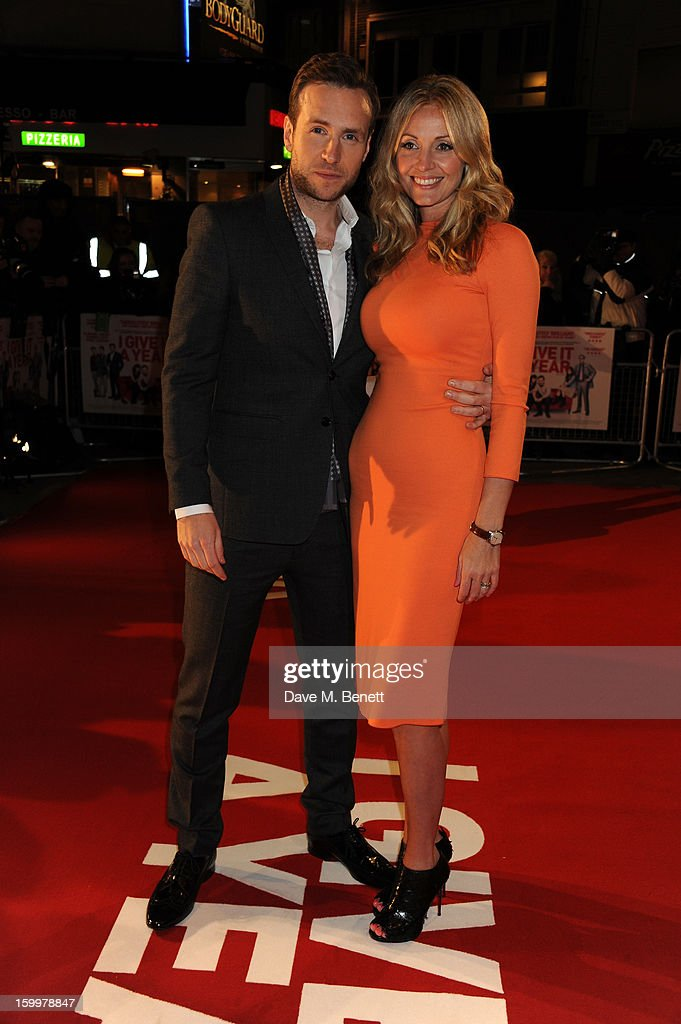 <a gi-track='captionPersonalityLinkClicked' href=/galleries/search?phrase=Elize+Du+Toit&family=editorial&specificpeople=210544 ng-click='$event.stopPropagation()'>Elize Du Toit</a> and Rafe Spall attend the European Premiere of 'I Give It A Year' at Vue West End on January 24, 2013 in London, England.